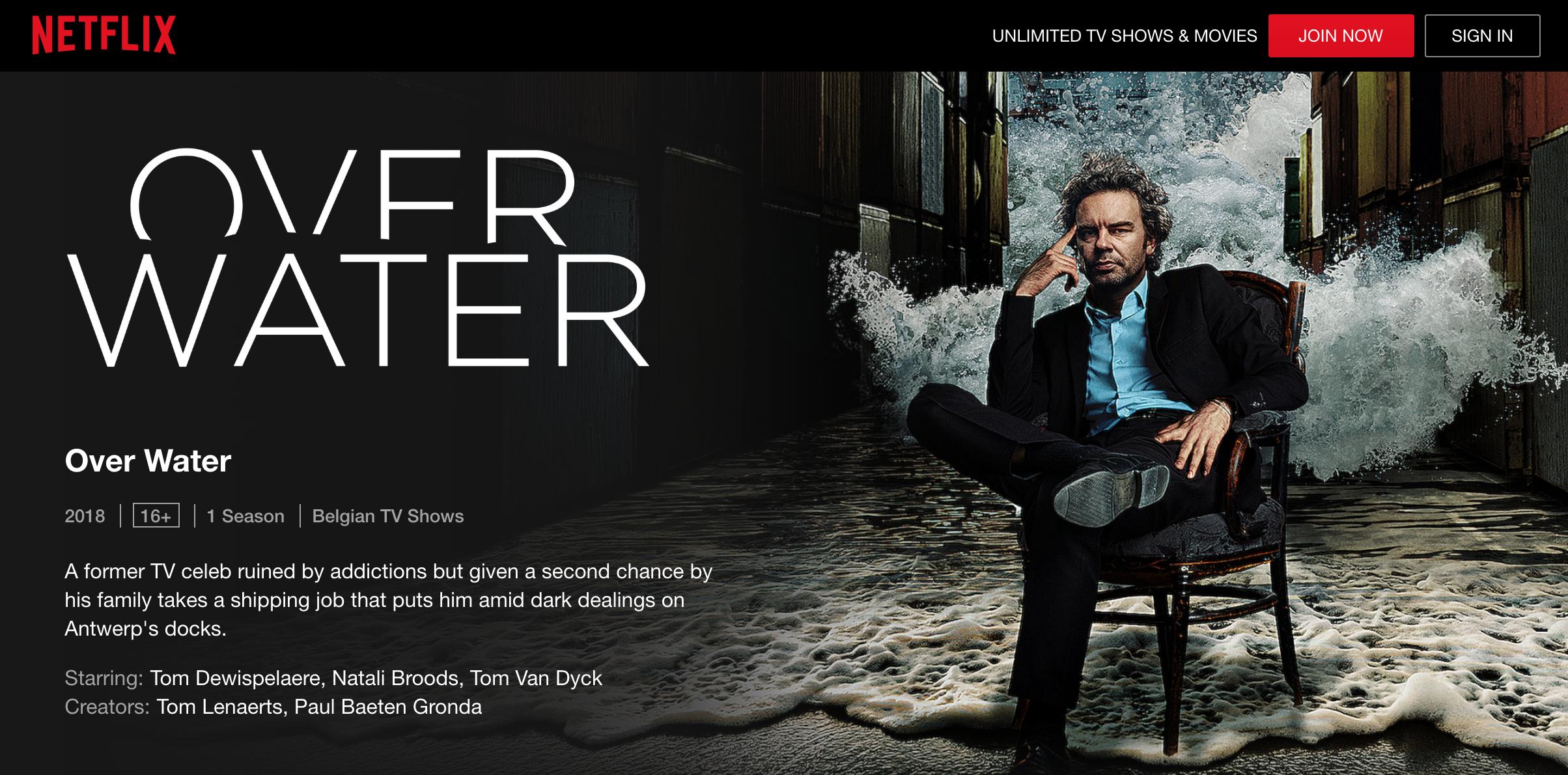 Over Water Netflix